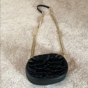 Michael Kors crossbody with gold chain strap
